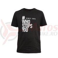 Tricou Magura #WhoStopsYou, negru