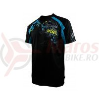 Tricou maneca scurta IXS In Deep DH Comp black