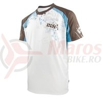 Tricou maneca scurta IXS In Deep DH Comp white