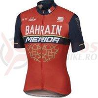 Tricou Merida Bahrain Team bodyfit