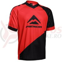 Tricou Merida F196 Freeride red/black