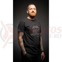 Tricou Merida maneci scurte negru Ride More Bike
