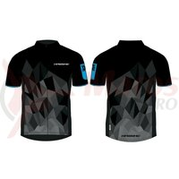 Tricou multifunctional Haibike men black/blue made by Maloja