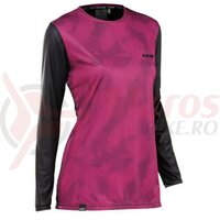 Bluza Northwave Edge Woman, Black/Fuchsia
