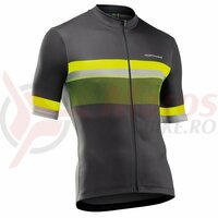 Tricou Northwave Origin, Anthracite/Yellow Fluo