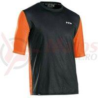 Tricou Northwave XTrail, Black/Orange