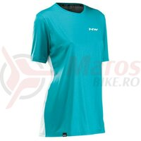 Tricou Northwave XTrail Woman, Ice/Green