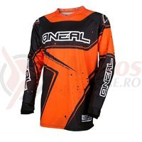 Tricou O'Neal Element Raceware negru/portocaliu