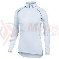 Tricou P.R.O. Baselayer transfer zip neck LS femei Pearl Izumi ride/run
