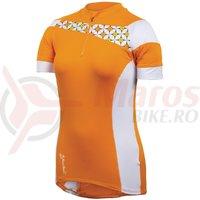 Tricou P.R.O. MTB launch femei Pearl Izumi ride orange