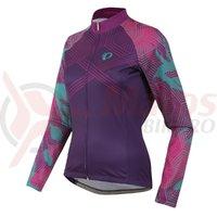 Tricou Pearl Izumi Elite thermal LTD femei ride wineberry