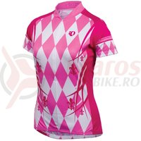 Tricou Pearl Izumi select LTD maneca scurta femei ride pink punch