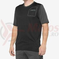 Tricou Ridecamp Jersey Charcoal/Black