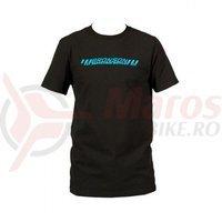 Tricou Santa Cruz Bronson T-Shirt Black/Cyan
