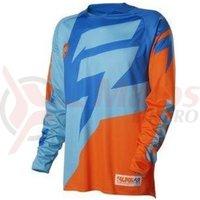 Tricou Shift MX-Jersey Faction Jersey orange/blue