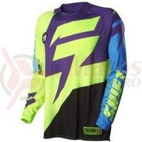 Tricou Shift MX-Jersey Faction Jersey purple/yellow