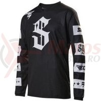 Tricou Shift MX-Jersey Recon Checkers jersey black