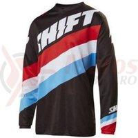 Tricou Shift MX-Jersey Whit3 Tarmac Jersey black/black