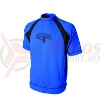 Tricou Shimano casual Fast Dry albastru/negru