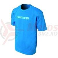Tricou Shimano casual maneca scurta albastru
