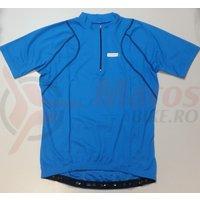 Tricou Shimano cu maneca scurta cusatura lata albastru