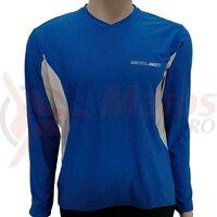 Tricou Shimano mtb maneca lunga blue
