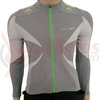 Tricou Shimano MTB maneca lunga explorer femei sand gray / lime green