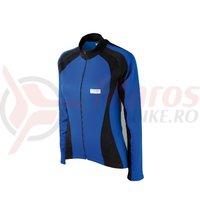 Tricou Shimano Originals maneca lunga pentru femei albastru/negru