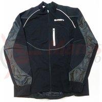 Tricou Shimano Performance windflex silver maneca lunga MTB negru/negru