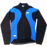 Tricou Shimano Performance windflex silver maneca lunga race negru/albastru