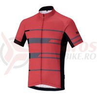 Tricou Shimano Shimano team short sleeve red