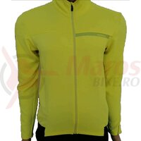 Tricou Shimano thermal winter neon yellow men