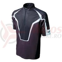 Tricou Shimano XT maneca scurta MTB maro/negru