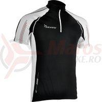 Tricou Silvini Aterno MD353 negru/alb