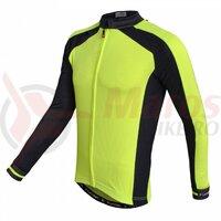 Tricou termic FUNKIER Firenze-LW Winter Kids LS/S - Neon Yellow