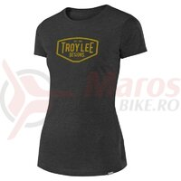 Tricou Troy Lee Designs Motor Oil Asphalt 2020