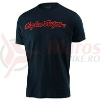 Tricou Troy Lee Designs Signature Tee Navy 2021