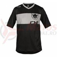 Tricou TSG Waft S/S - Black Grey