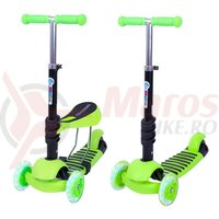 Trotineta copii Worker Nimbo 3in1 120 mm verde