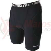 Undershort Shimano barbati MTB black