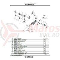 Unitate de stabilizare Shimano RD-M6000