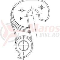 Ureche schimbator Merida Hardy/Mission/HFS/TFS