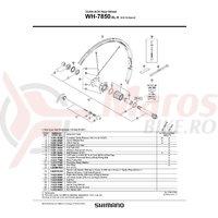 Valva Shimano WH-7850-SL-R