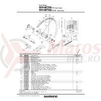 Valva Shimano WH-MT68-F15