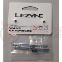 Valve extender LEZYNE pereche 70mm