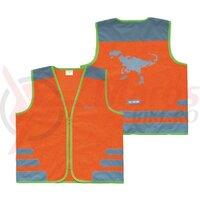 Vesta de siguranta Wowow Nutty Jacket pentru copii orange