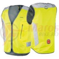 Vesta de siguranta Wowow Tegra eBike yellow, lumina spate