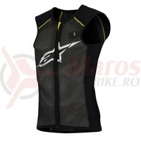 Vesta protectie Alpinestars Paragon Vest black/yellow