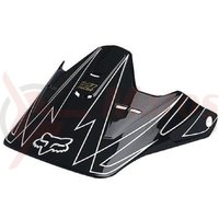 Vizor Fox Fall 08 V1 Whitewall visor black