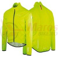 Jacheta anti-vant-ploaie Wowow De Muur yellow reflective